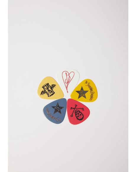 Spaceboy Guitar Pick 8pc Set