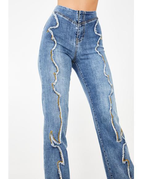 Kennedy Wide Leg Jeans
