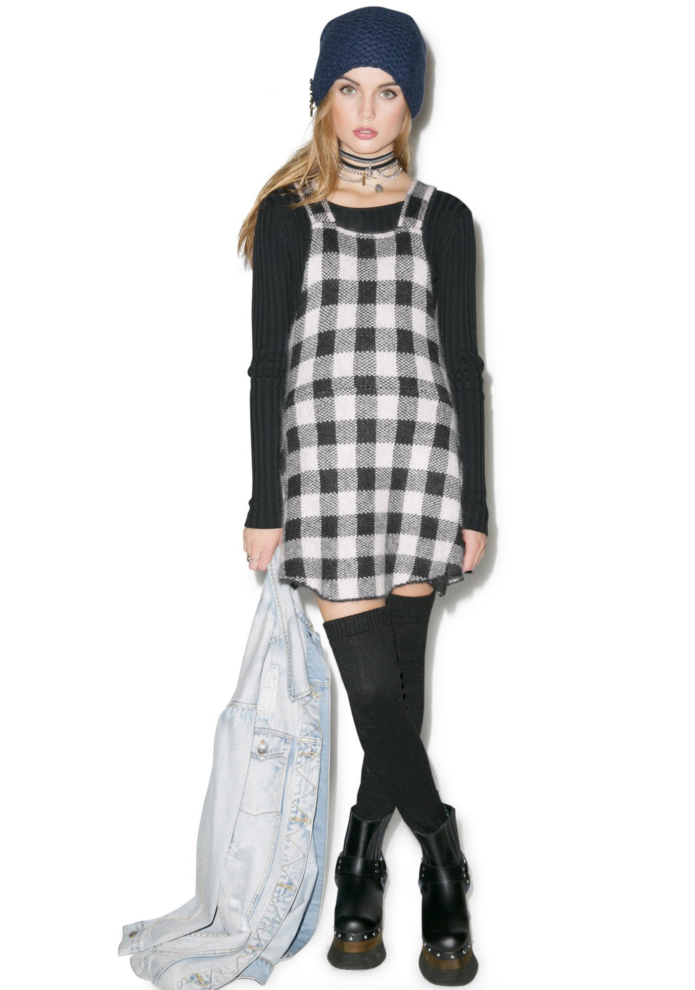 For Love & Lemons Lumberjack Pinafore