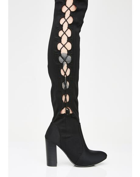 Temptation Avenue Thigh High Boots