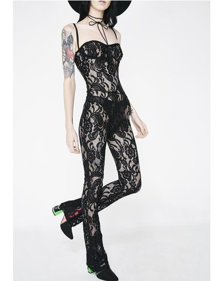 Siren Lace Full Bodysuit