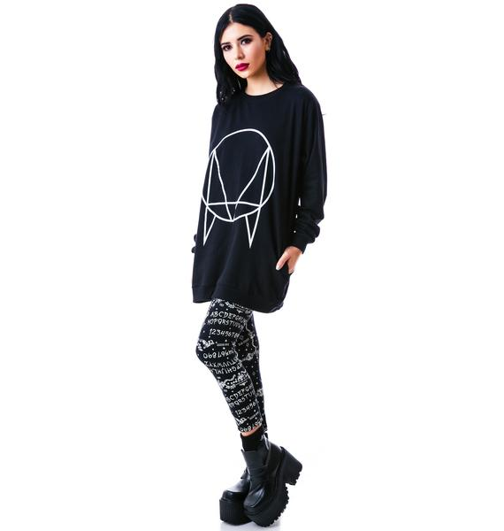 Long Clothing Owlsa Sweater