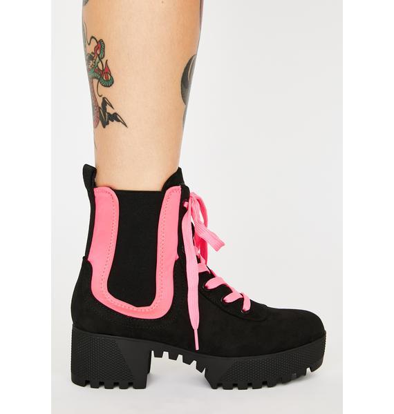 Like A Champ Combat Boots