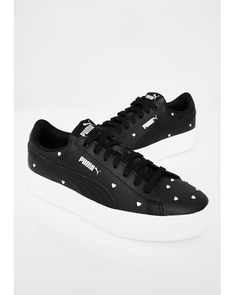 Vikky Stacked Studs Sneakers