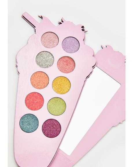 Strawberry Milkshake Eyeshadow Palette