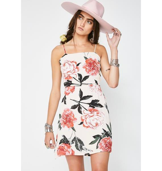 Watch Me Bloom Mini Dress