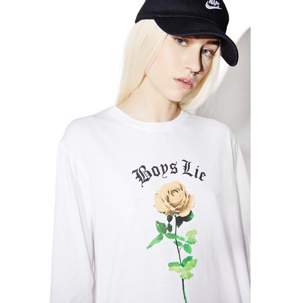 Motel Boys Lie Long Sleeve Tee