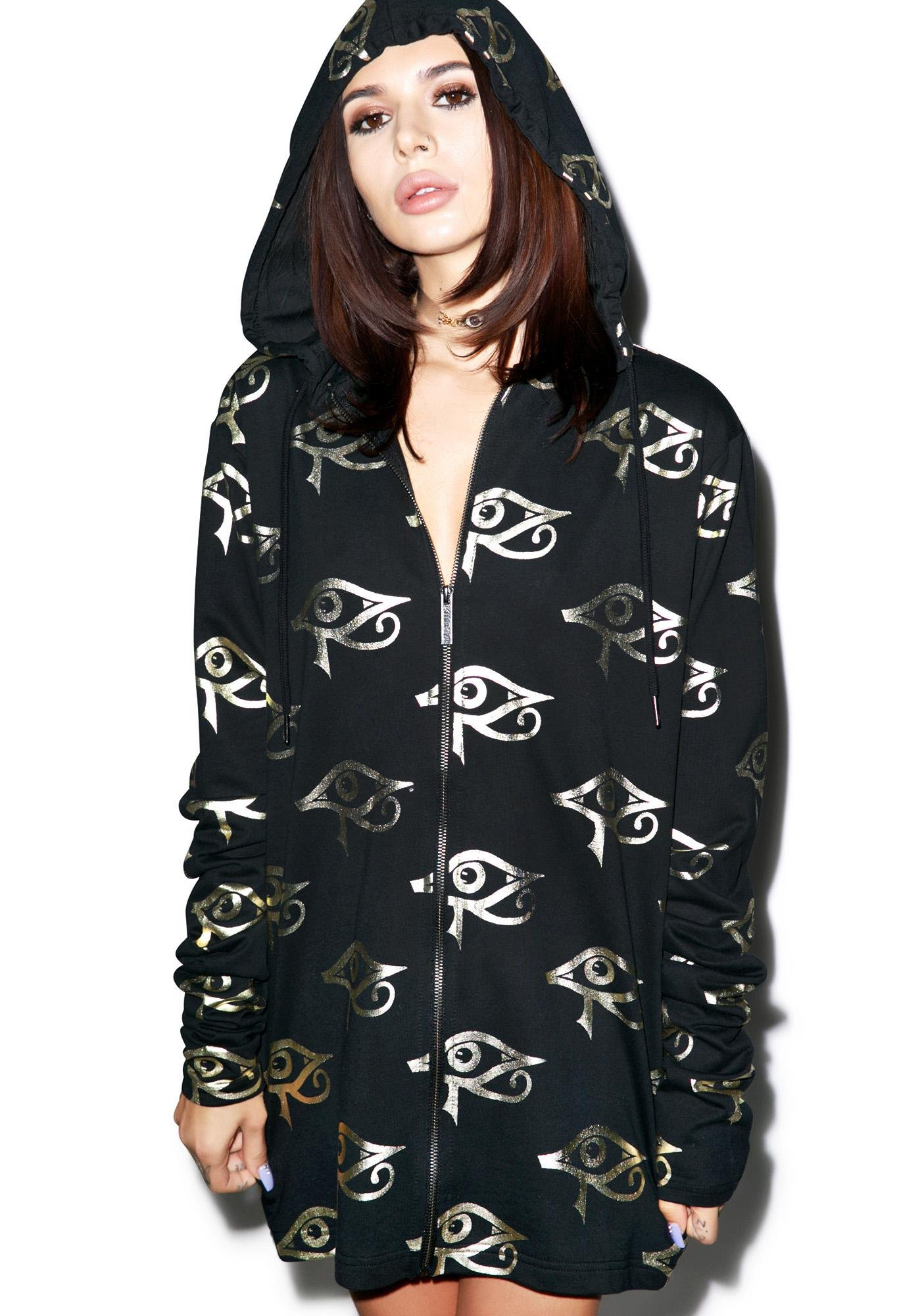 Killstar Ra Zip Up Hoodie