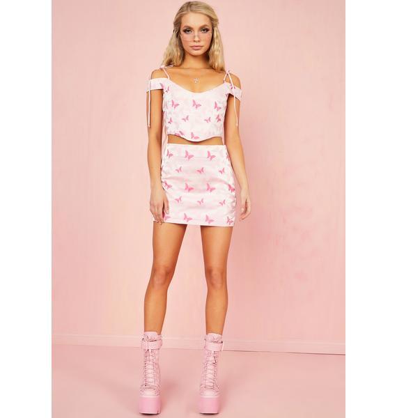 Sugar Thrillz Polaroid Fever Mini Skirt