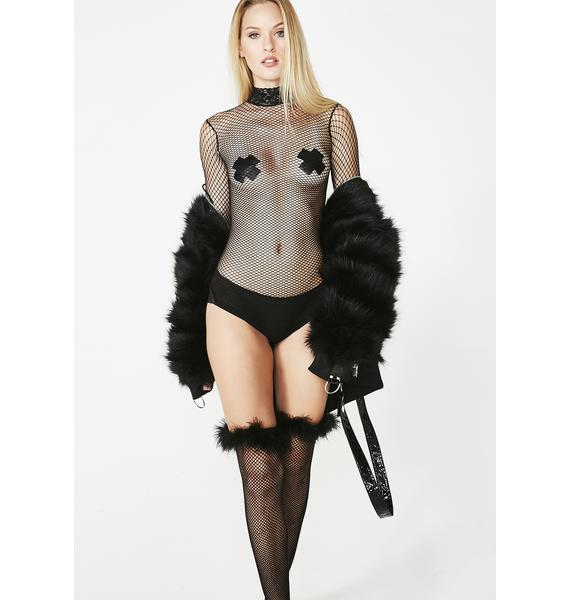 High Demand Fishnet Bodysuit