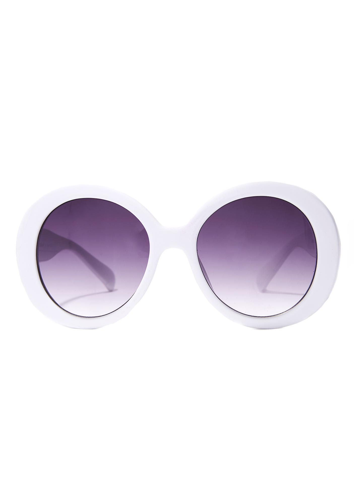 Eyes Wide Open Round Sunglasses