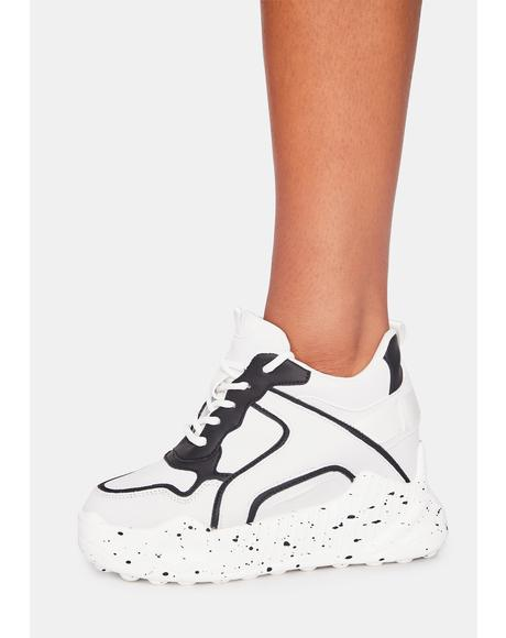 Monochrome Durian Platform Sneakers