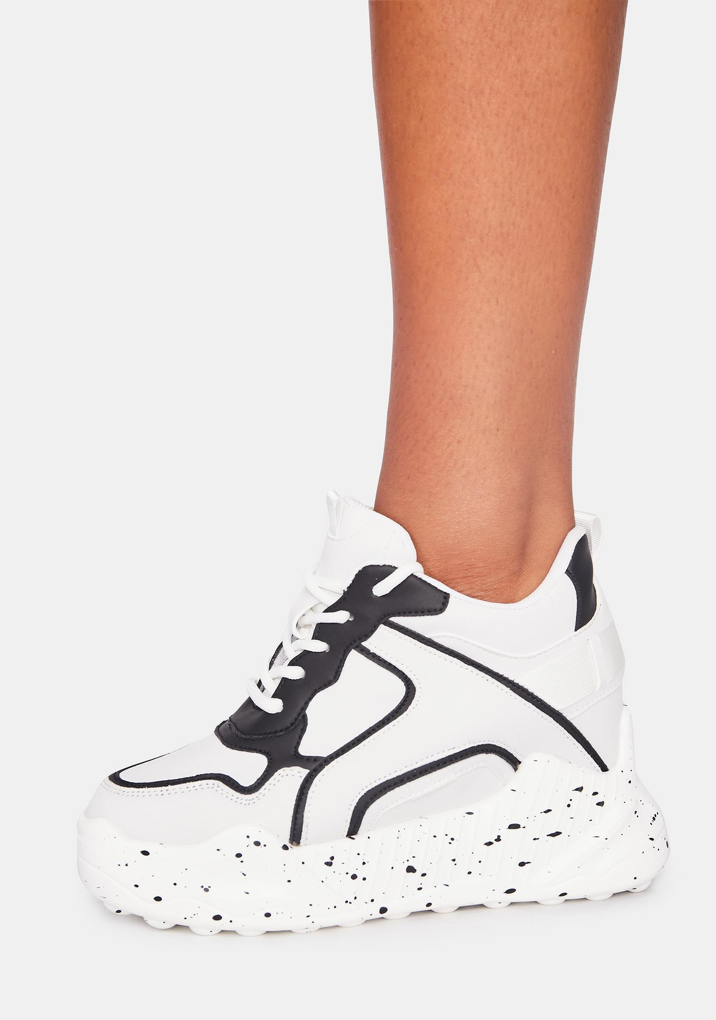 Anthony Wang Monochrome Durian Platform Sneakers
