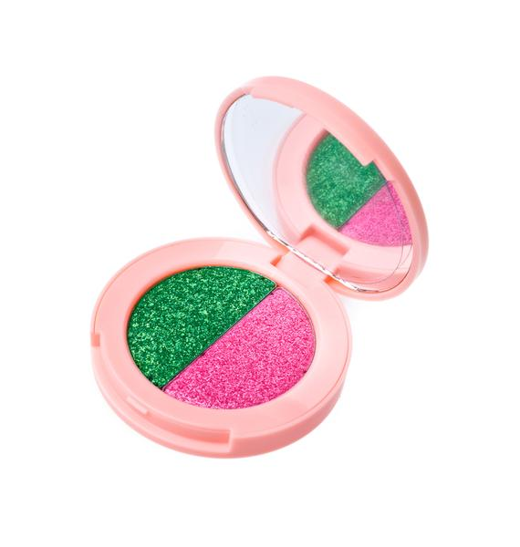 Lime Crime Lawn/Flamingo Superfoil Eyeshadow Duo