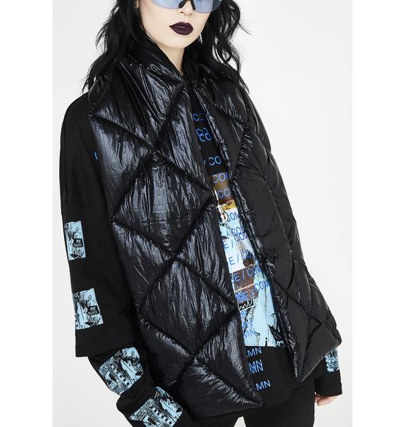 Chillin' Babe Puffer Scarf
