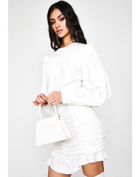 Holy Secret Confession Ruffle Dress