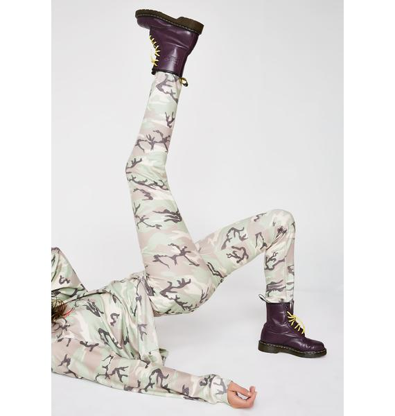 Wildfox Couture Camo Knox Pants