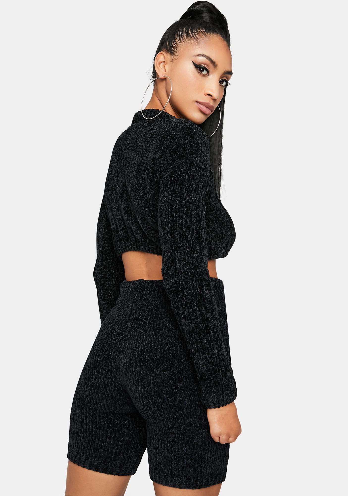 Nox Luxe in Love Knit Biker Shorts