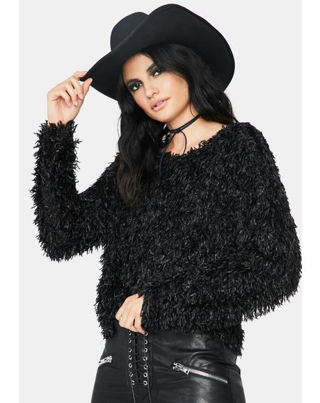 Beyond The Valley Fuzzy Sweater