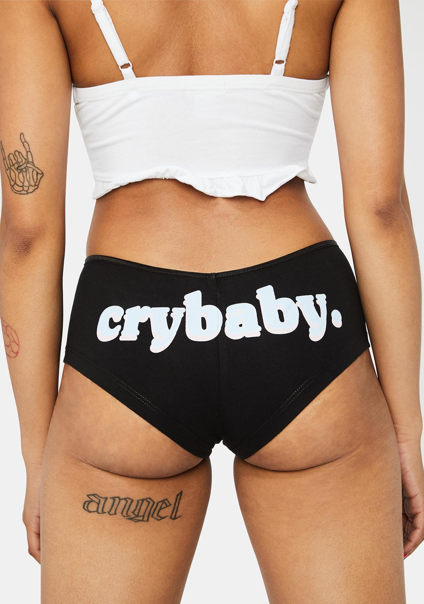 Femfetti Cry Baby Boy Shorts Undies