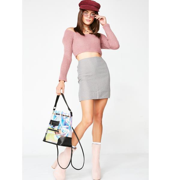 Overdue Fees Mini Skirt