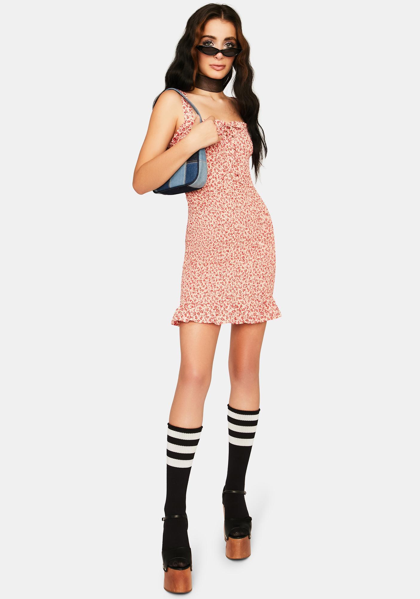 Last First Kiss Mini Dress