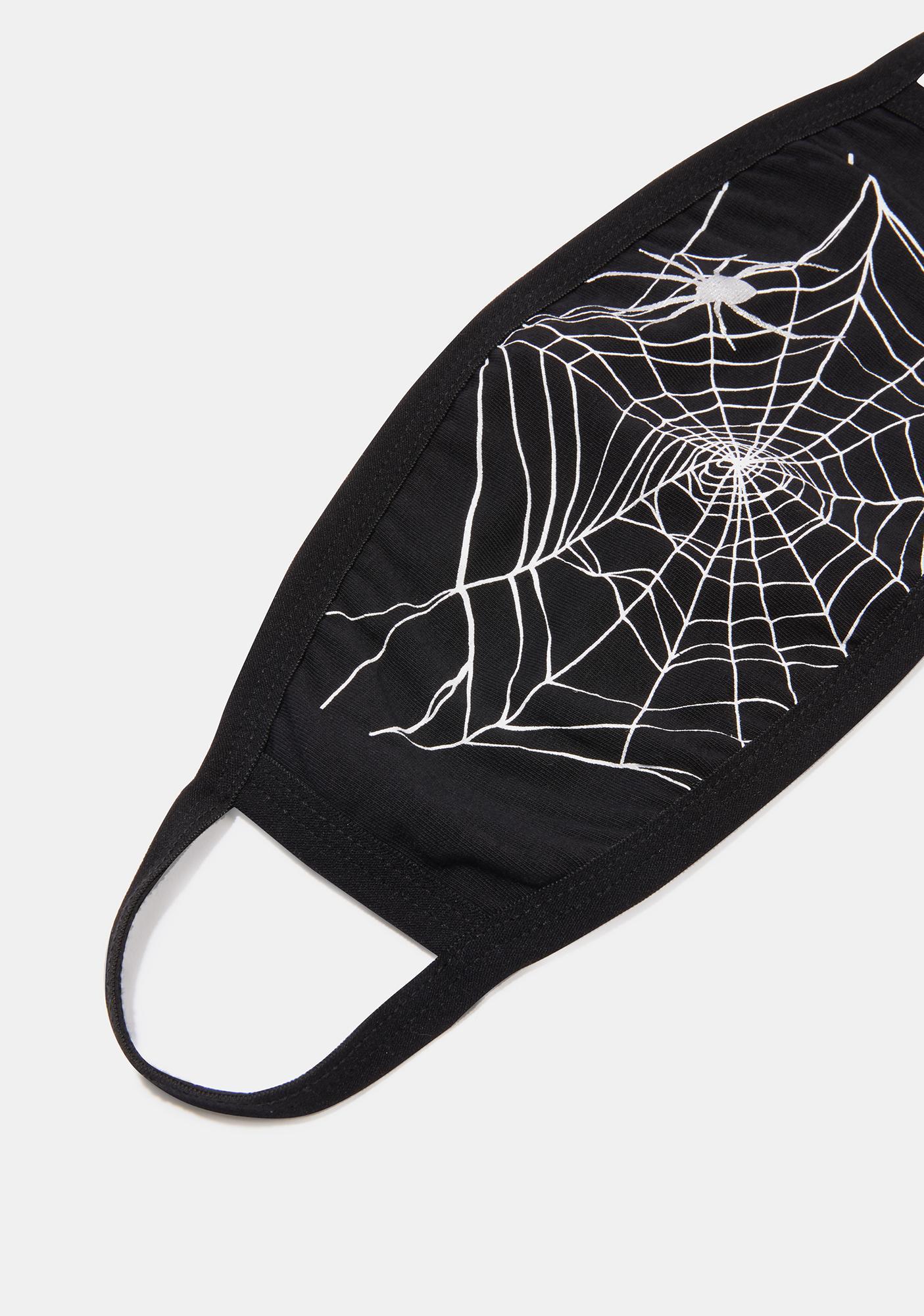 Trickz & Treatz The Web You Weave Face Mask