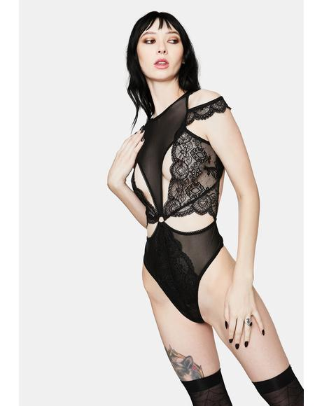 Seduction Lace And Mesh Teddy