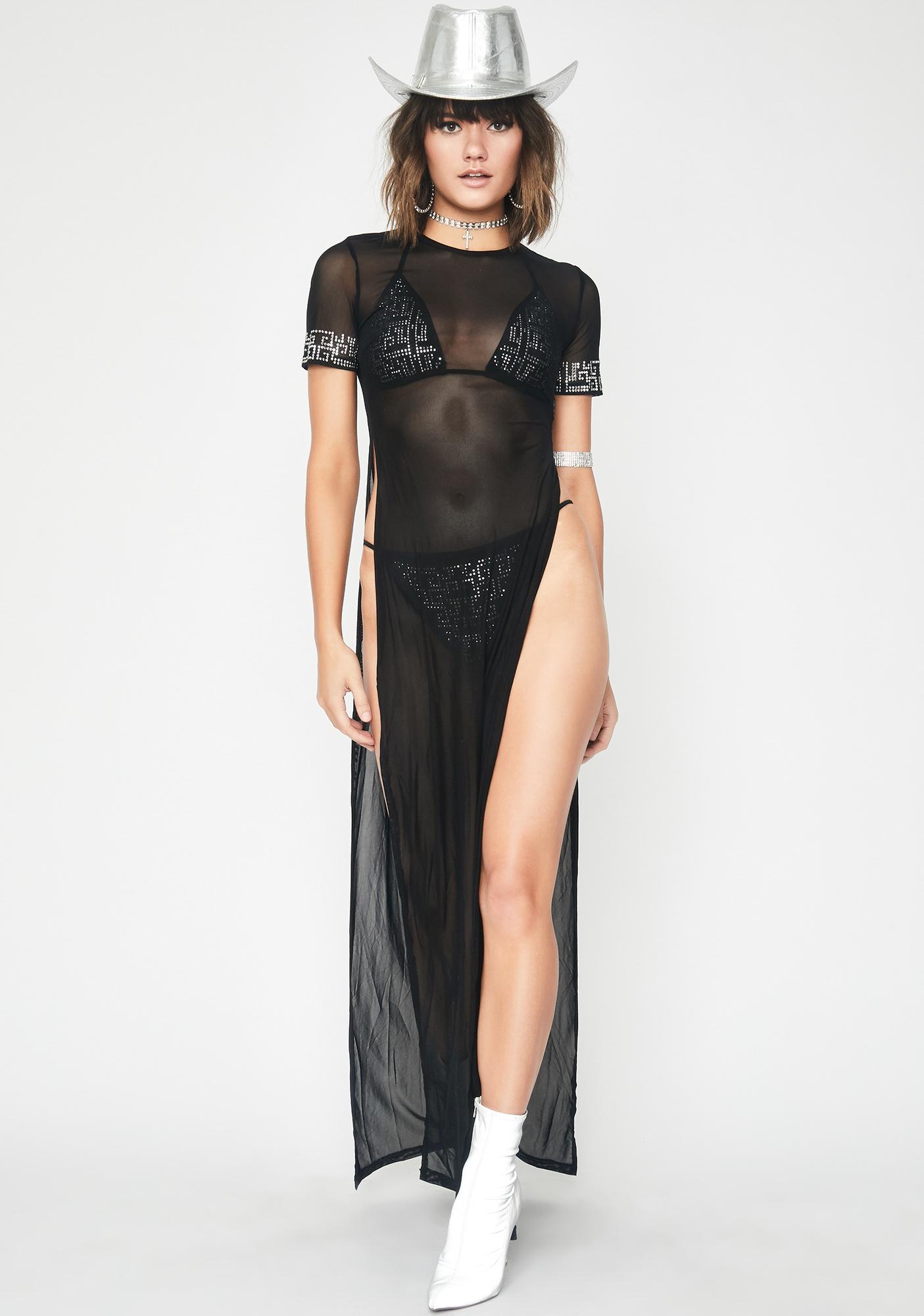 Dark Wave Goddess Bikini Set