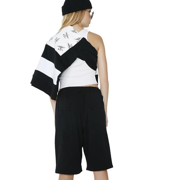 BOY London BOY Multi Patch Shorts