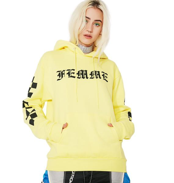 Moon River Collective Femme Hoodie