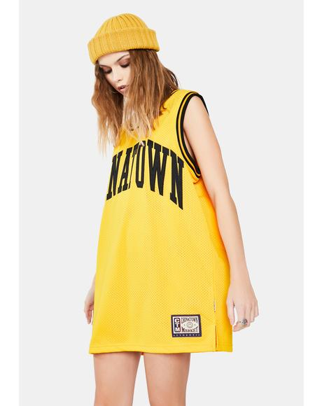 Smiley Basketball Jersey