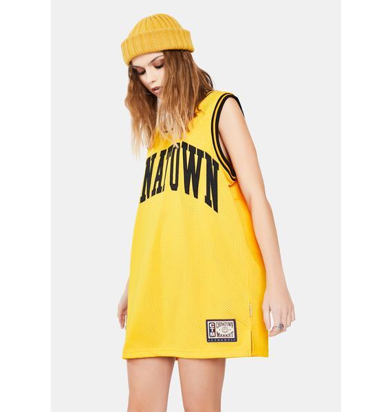 CHINATOWN MARKET Smiley Basketball Jersey