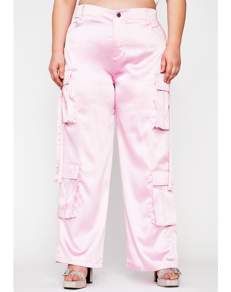Totally Candy Crushed Cargo Pants