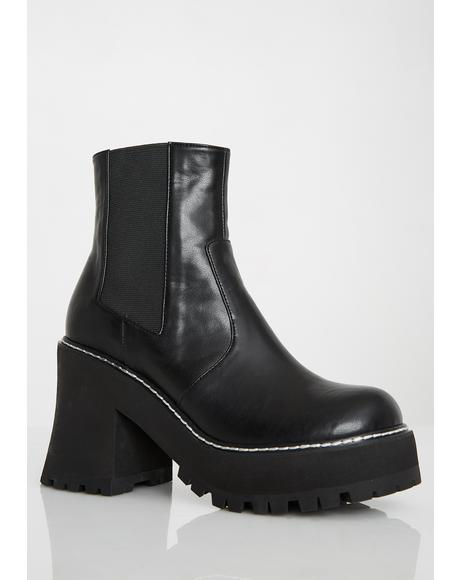 Injustice Platform Boots