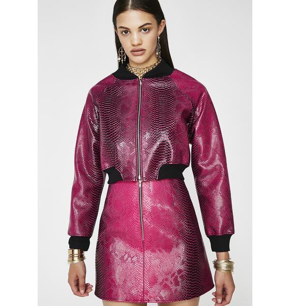 Sinful Seductress Crop Jacket