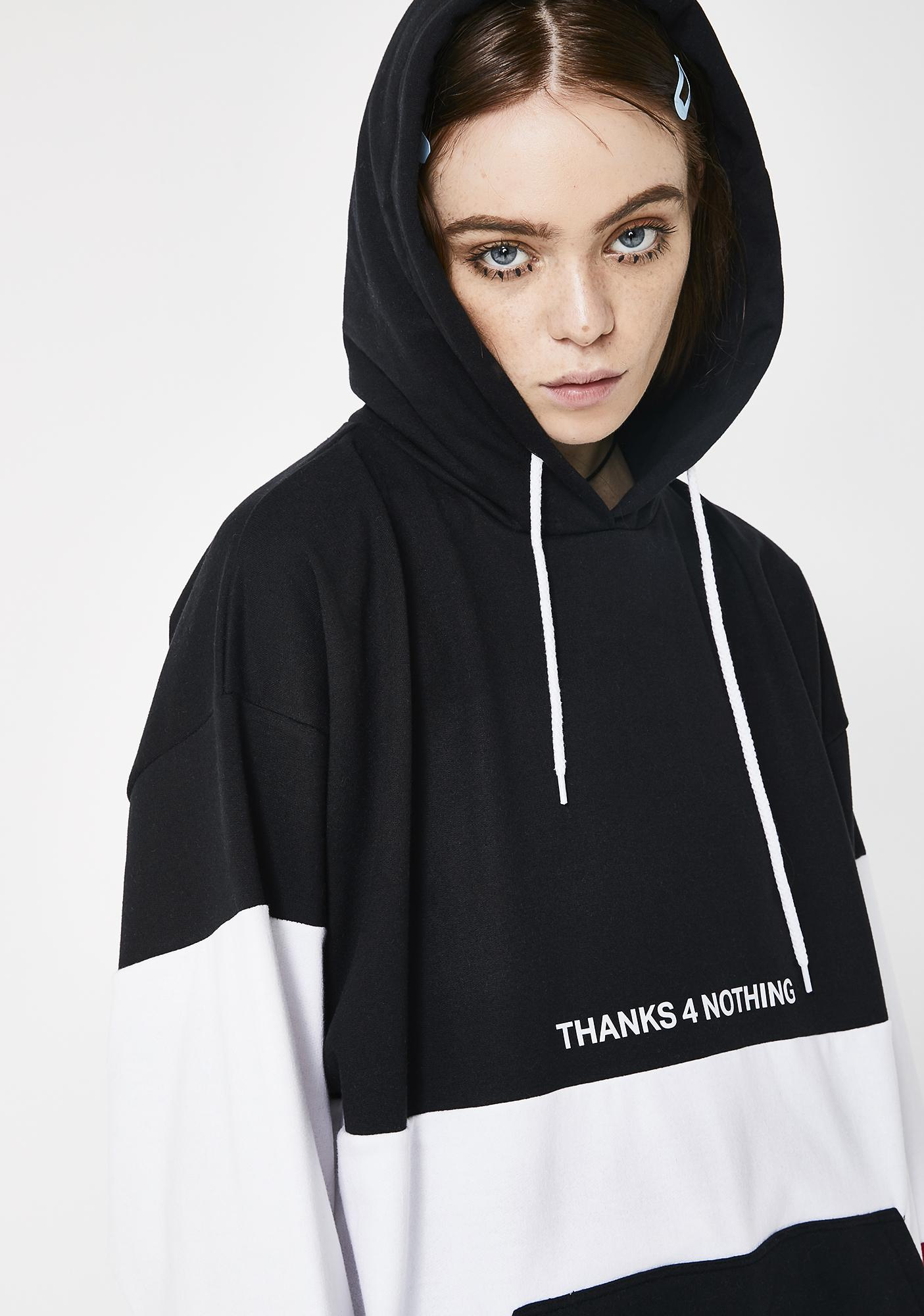 Minga Thanks 4 Nothing Hoodie