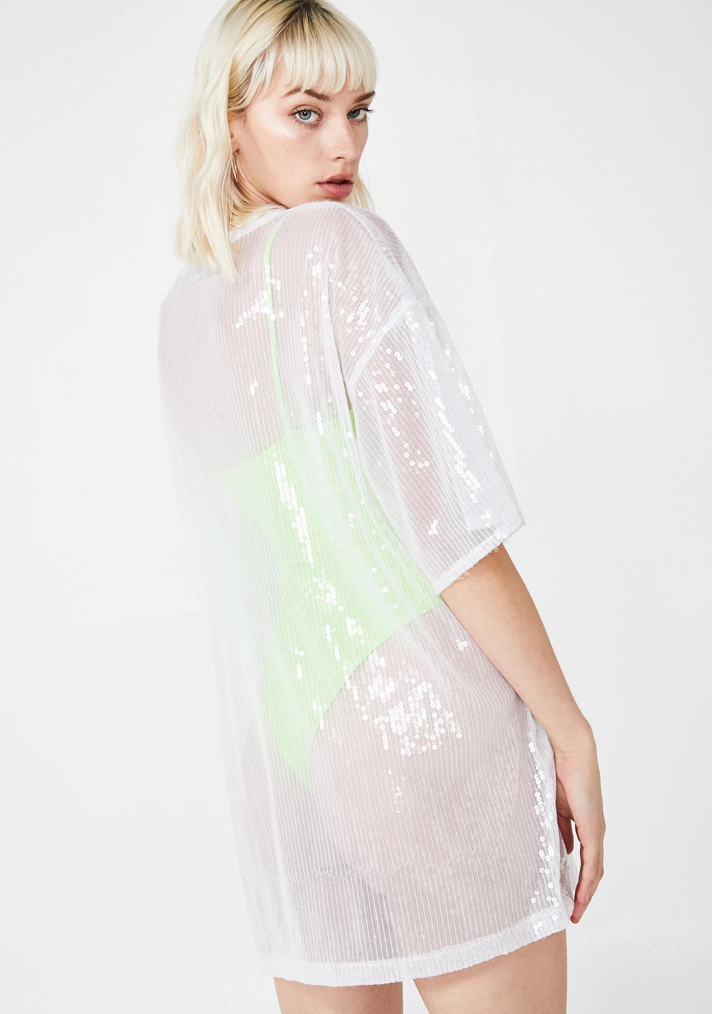Motel Icy Sunny Kiss Tee Dress
