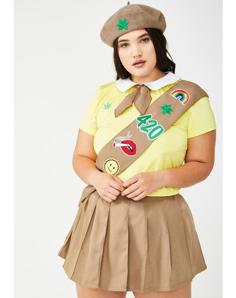 Miss Pot Brownie Costume Set