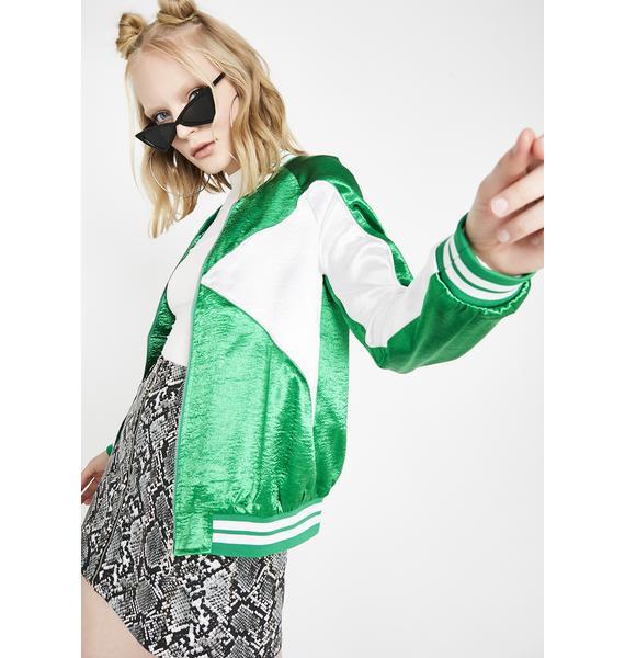Fresh Swag Satin Jacket