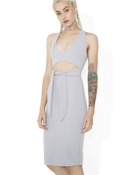 Yer The One Waist Tie Dress