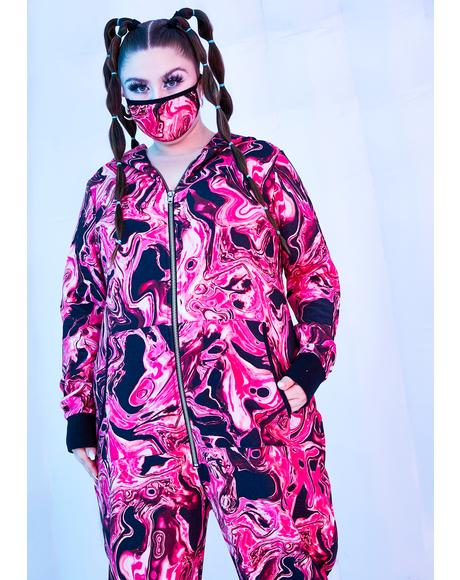 Divine Lady Acid Dimension Thermal Onesie