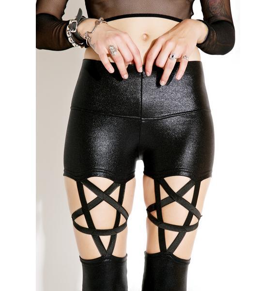 Plague Pentagram Leggings