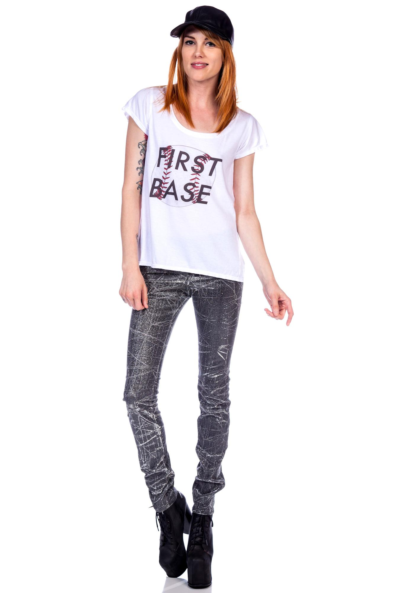 Stylestalker First Base Tee