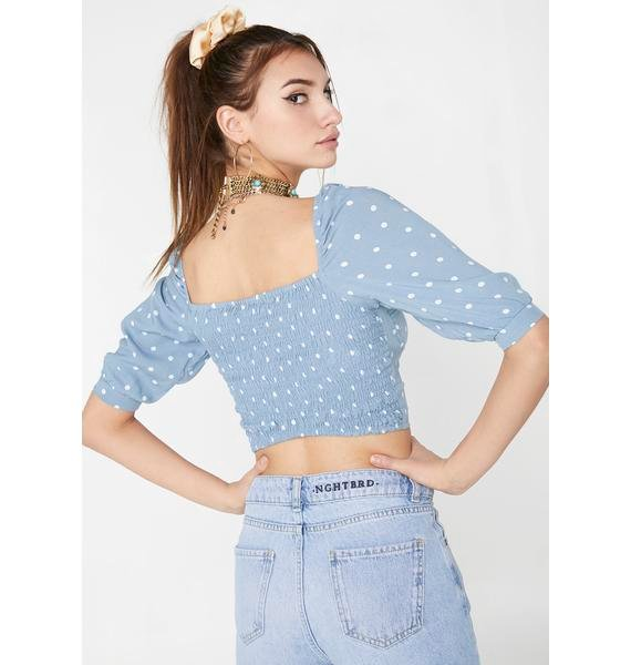 Motel Flory Crop Top