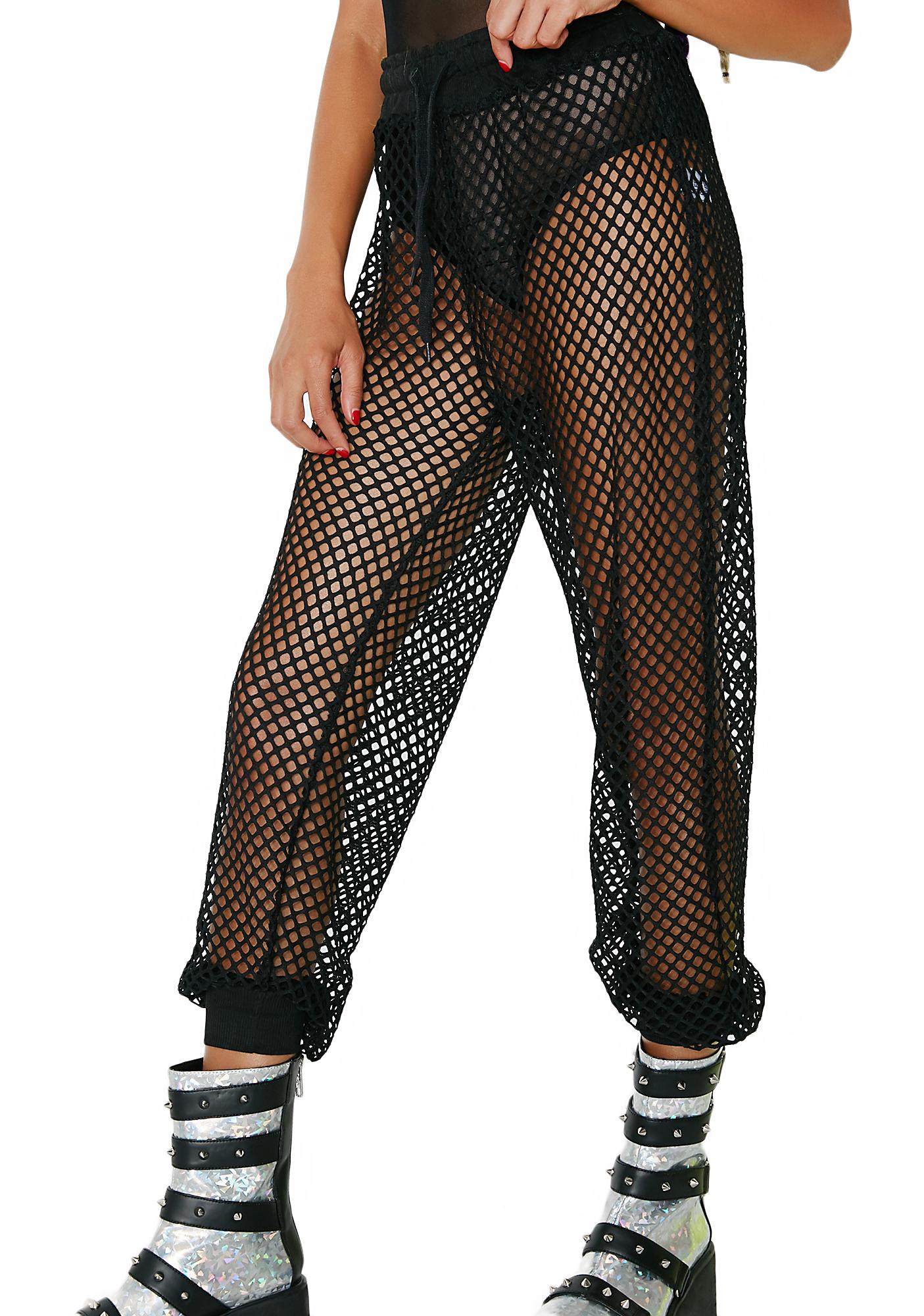 Club Exx Burn Baby Mesh Pants