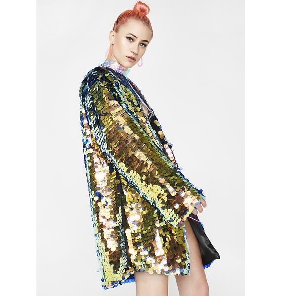 B Glittz Hypnotic Sequin Kimono