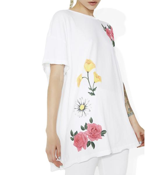 Wildfox Couture Meadow Flowers Party Doll T-Shirt