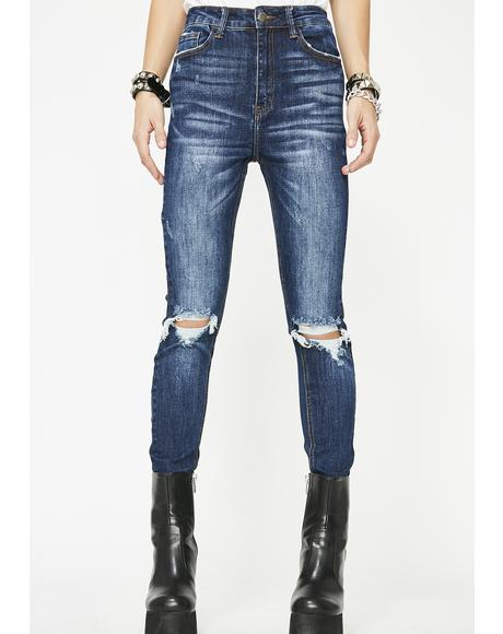 Cobalt Damsel In Distressed Jeans