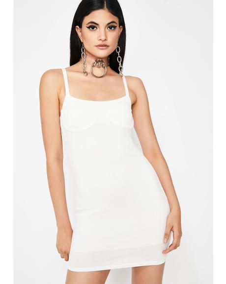 Icy Insta Thot Underwire Dress